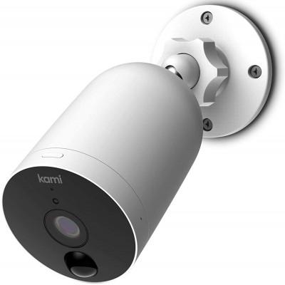 Câmera de segurança externa...