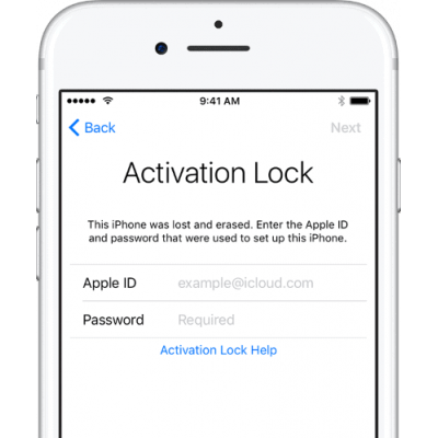iPhone icloud unlock